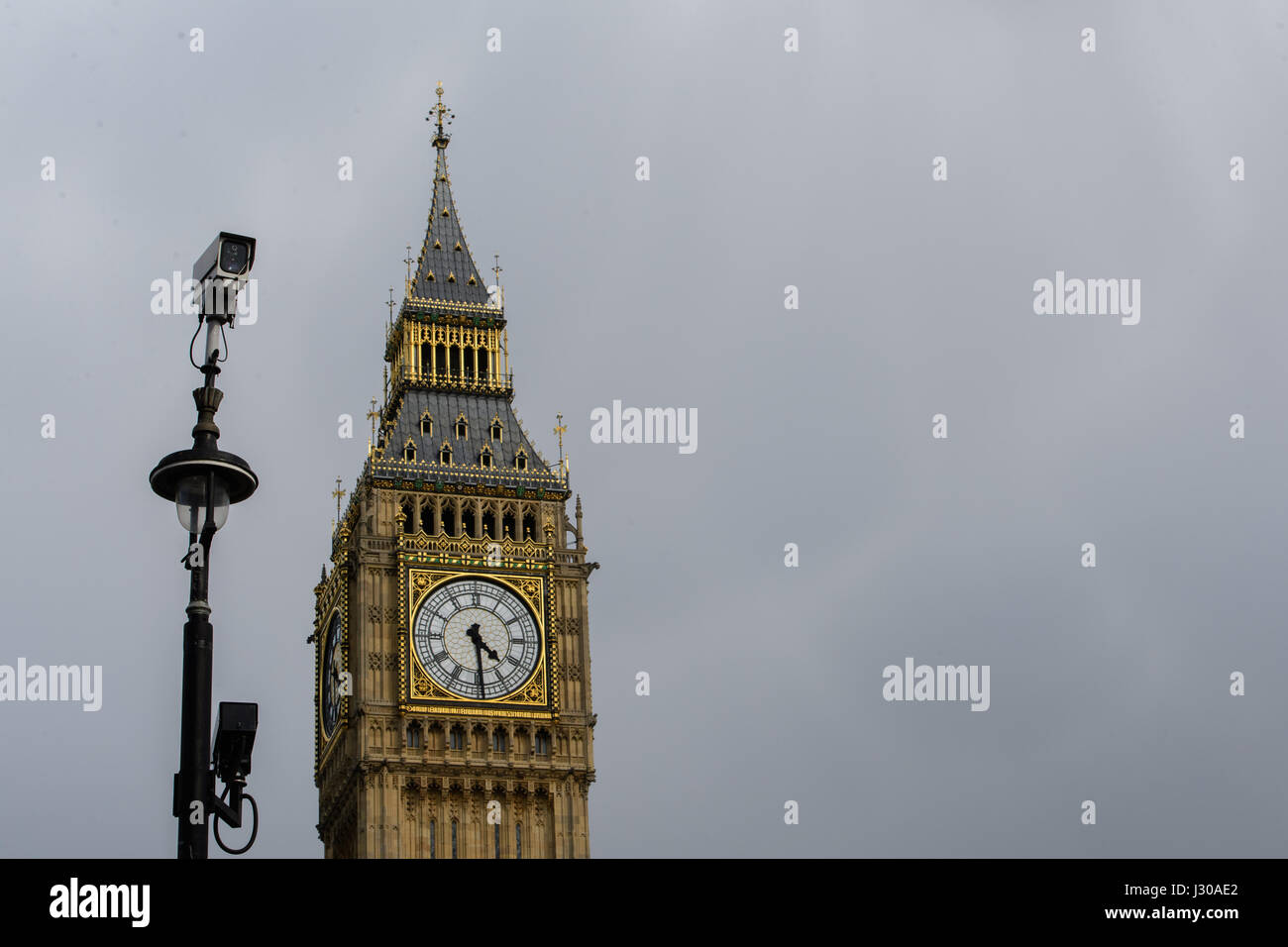 Closed Circuit Tv Camera Stock Photos When The Is Complete It Called Photograph Clock Face On Elizabeth Tower Commonly Big Ben