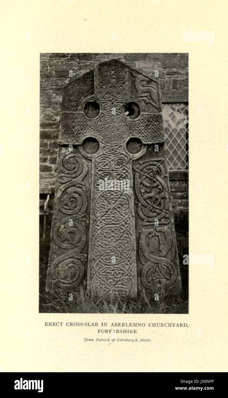 Celtic art in Pagan and Christian Times, p185 - Stock Image