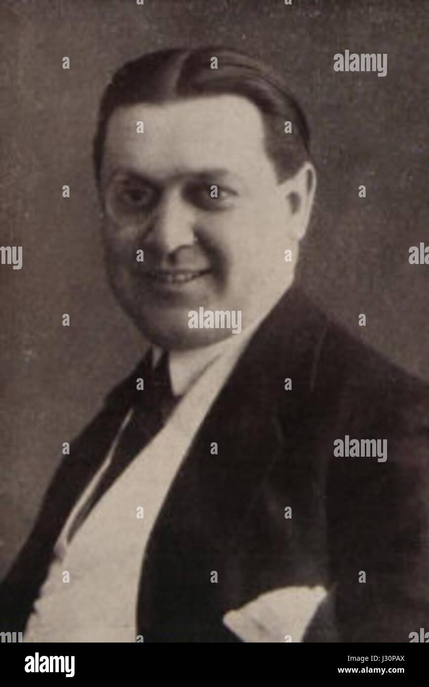 Oreste Bilancia 1920 - Stock Image