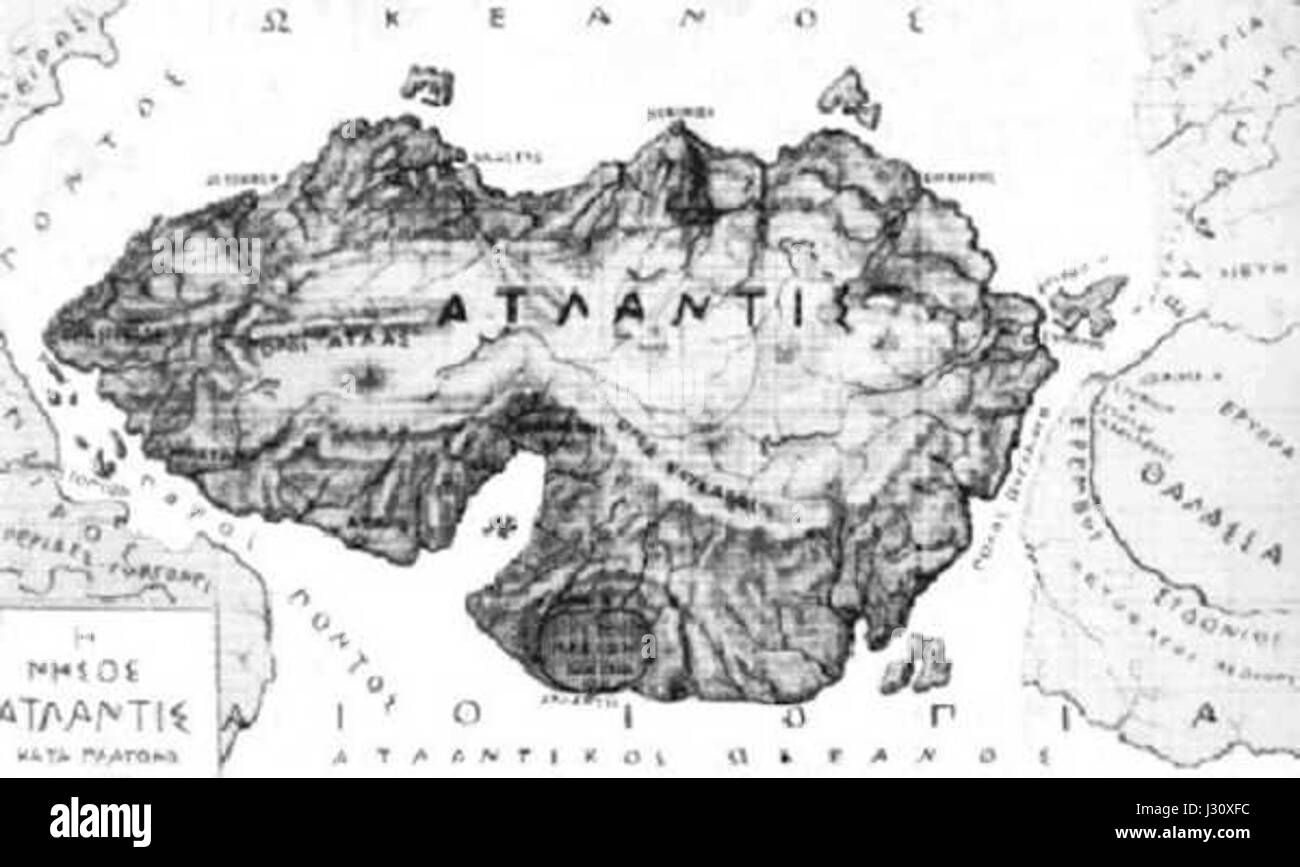 Map Of Atlantis Stock Photos Map Of Atlantis Stock Images Alamy