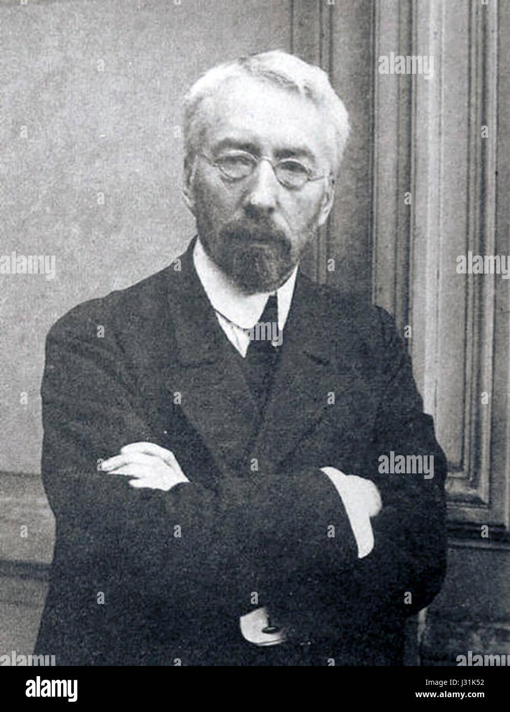 Burtsev V.L. 1900-e Karl Bulla - Stock Image