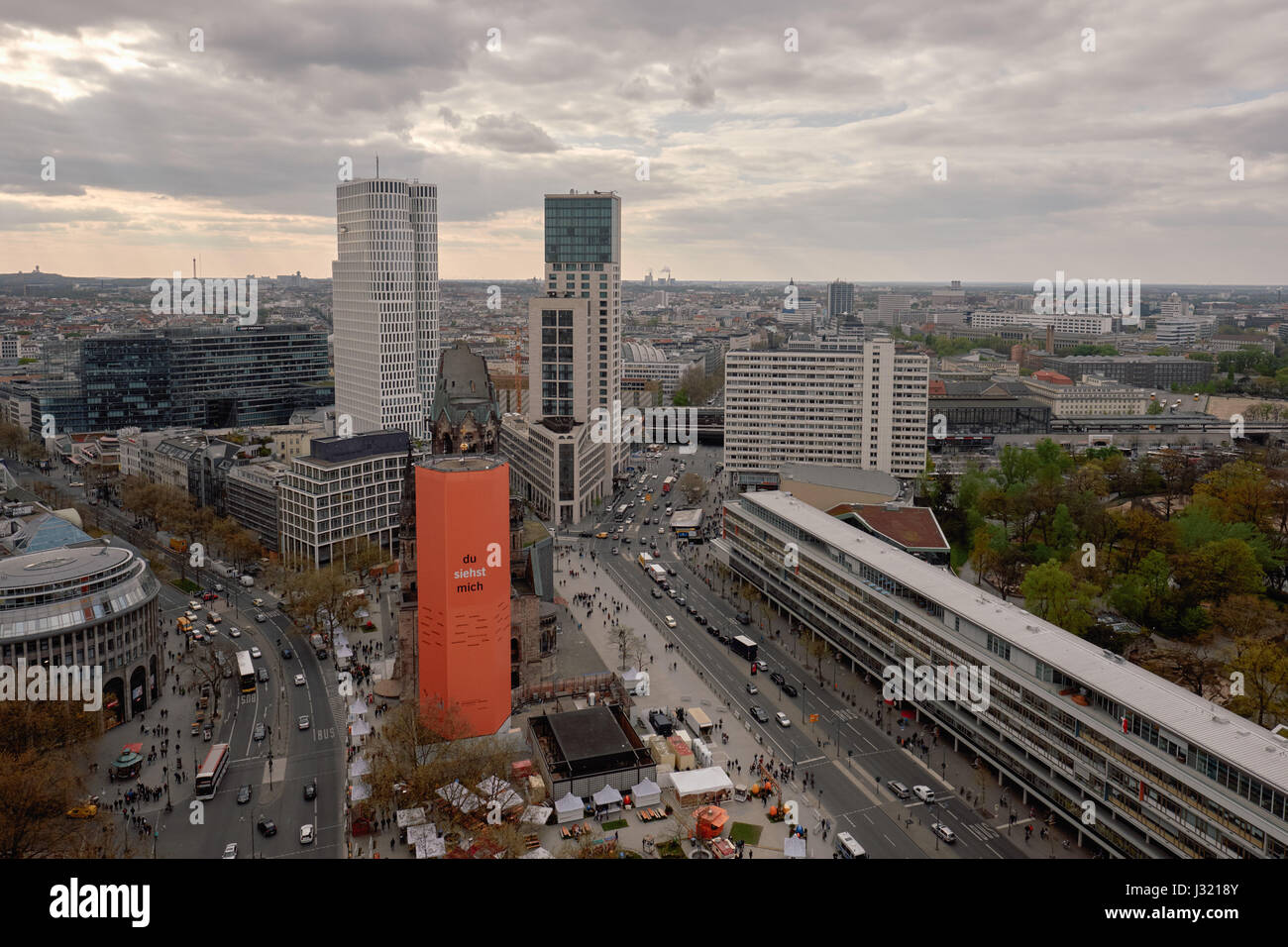 Berlin Germany 20th Apr 2017 The Hotel Motel One Left And