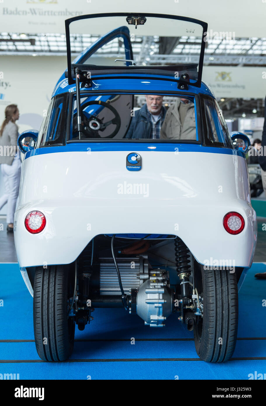 A Microlino electric car of the Swiss company Micro can be seen at Stock Photo: 139575439  Alamy