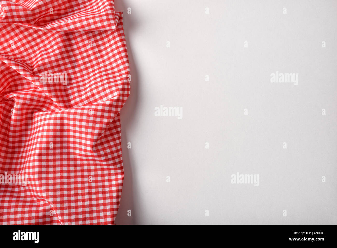 White table top view Post It Red And White Checkered Fabric On White Table Top View Horizontal Composition Alamy Red And White Checkered Fabric On White Table Top View Horizontal