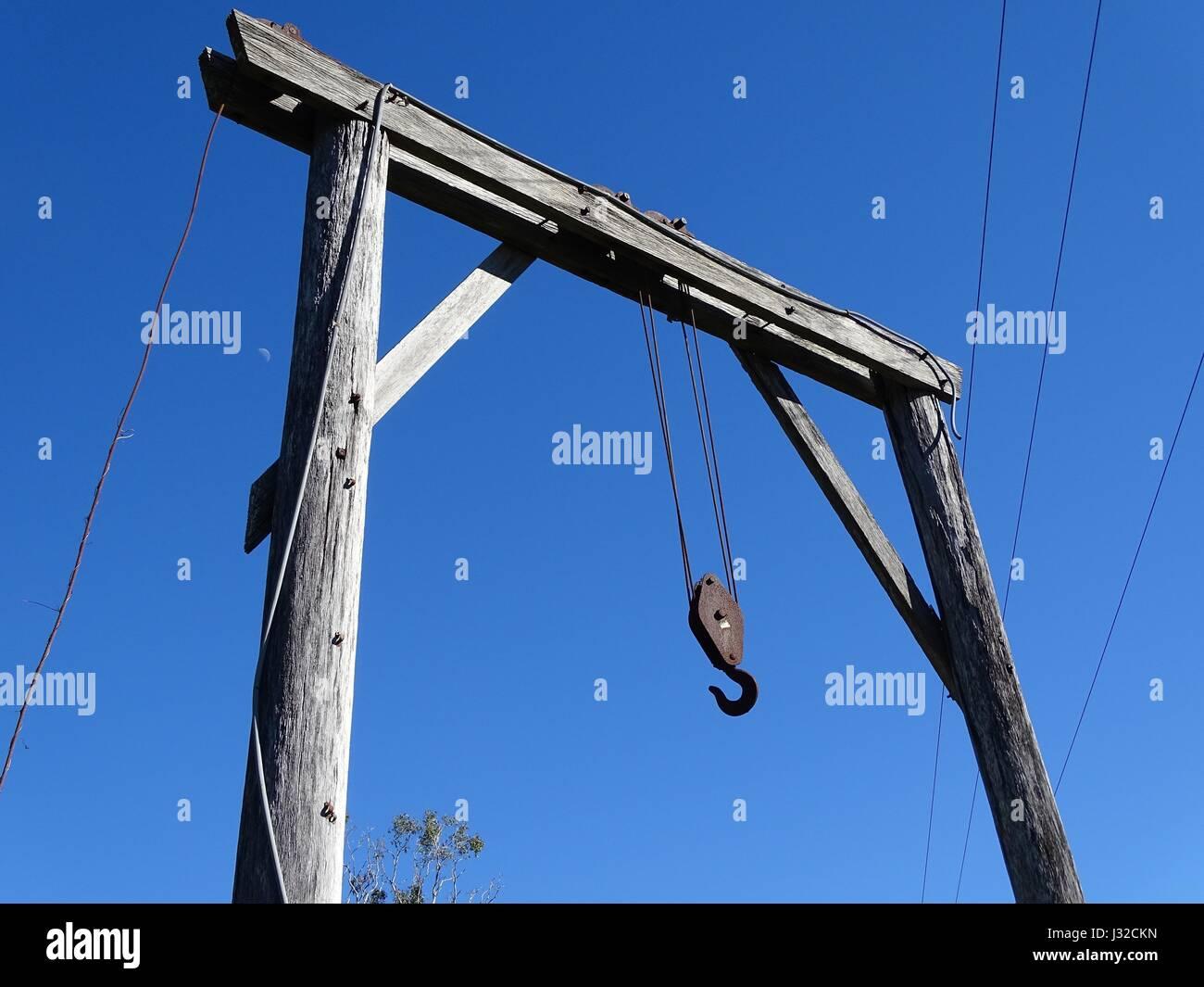 A Crane Gantry Stock Photo 139580777 Alamy