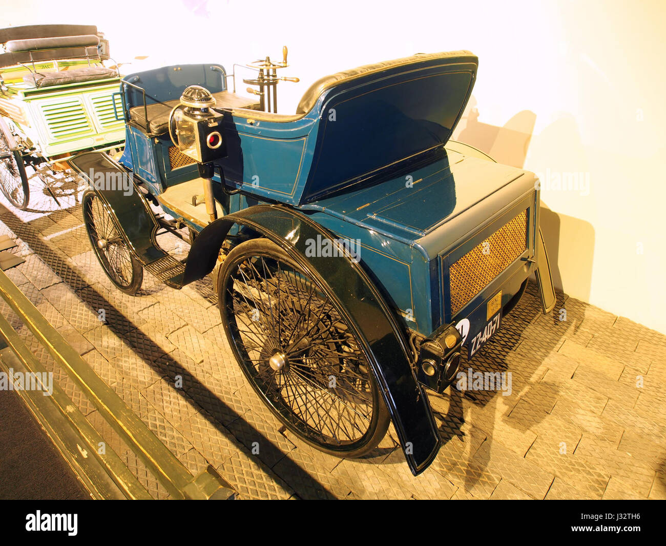 1901 Benz 6-HP Ideal photo2 - Stock Image