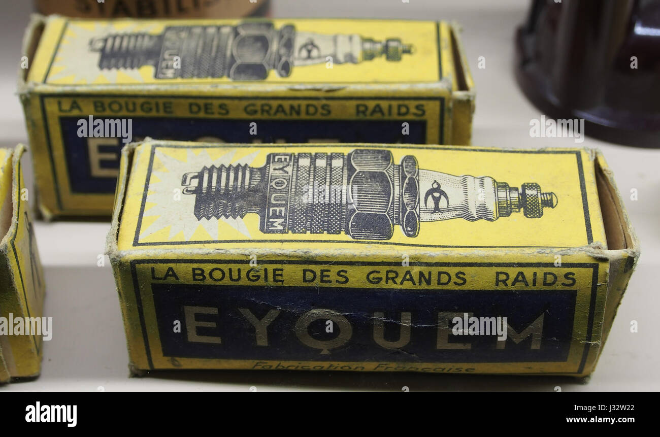 Eyquem bougie Stock Photo