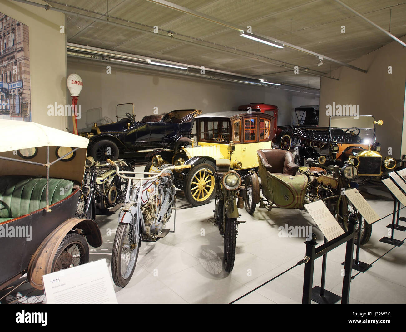 1920 hal Louwman museum foto 1 Stock Photo