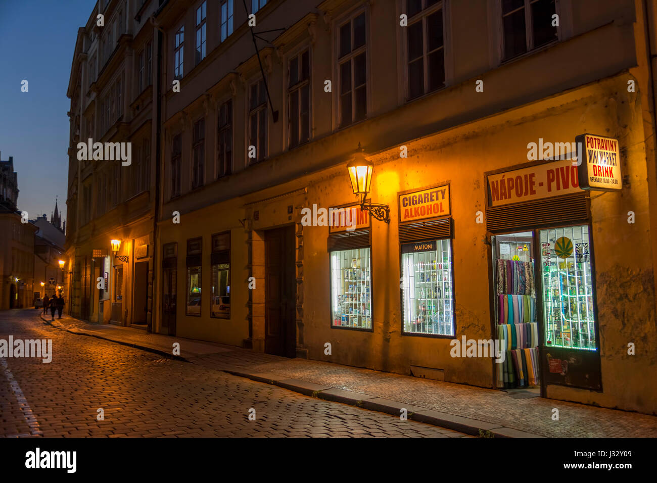 Store Door Exterior Night Stock Photos & Store Door Exterior Night ...