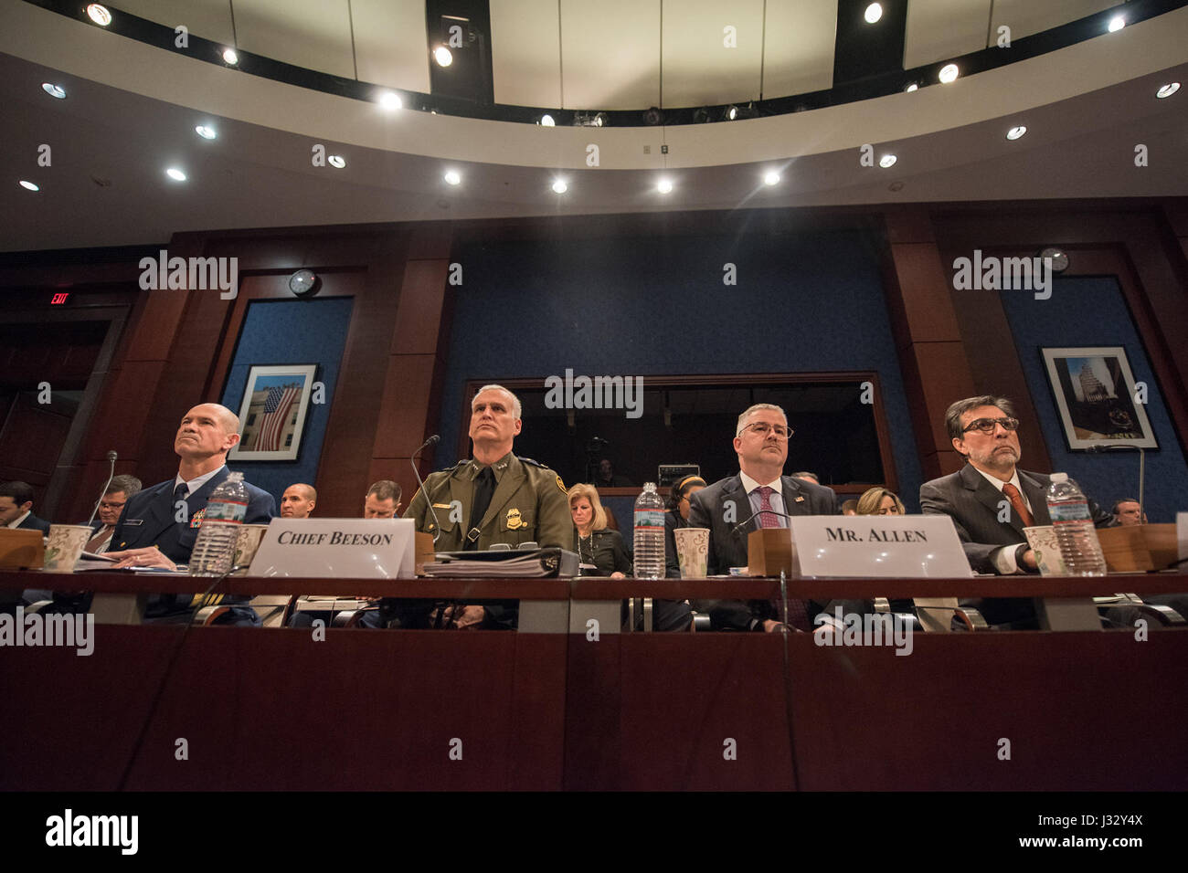 February 16: Director Paul Beeson (JTF-W) will testifies before the House Homeland Security Committee, Border and Stock Photo