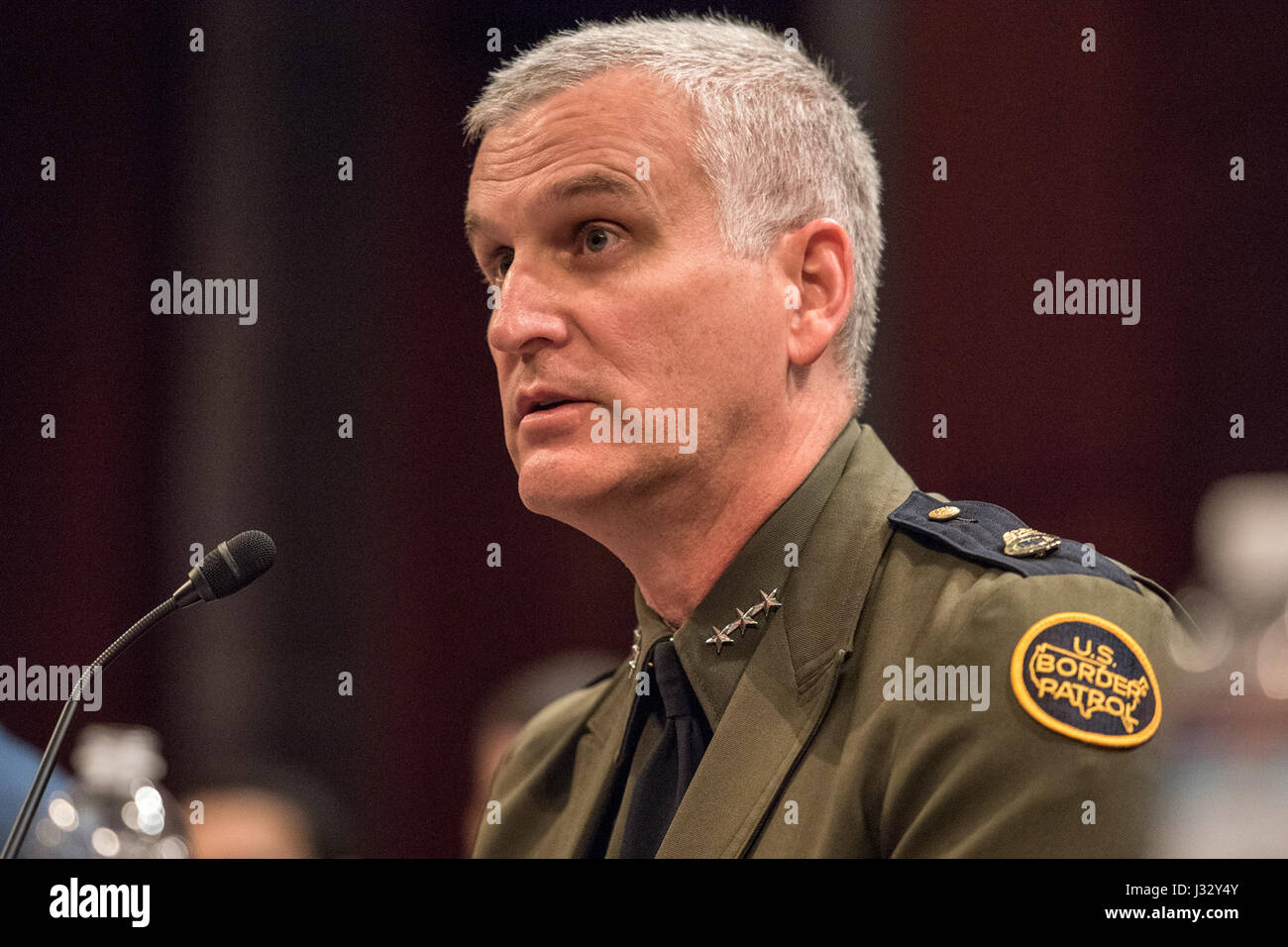 February 16: Director Paul Beeson (JTF-W) will testifies before the House Homeland Security Committee, Border and - Stock Image