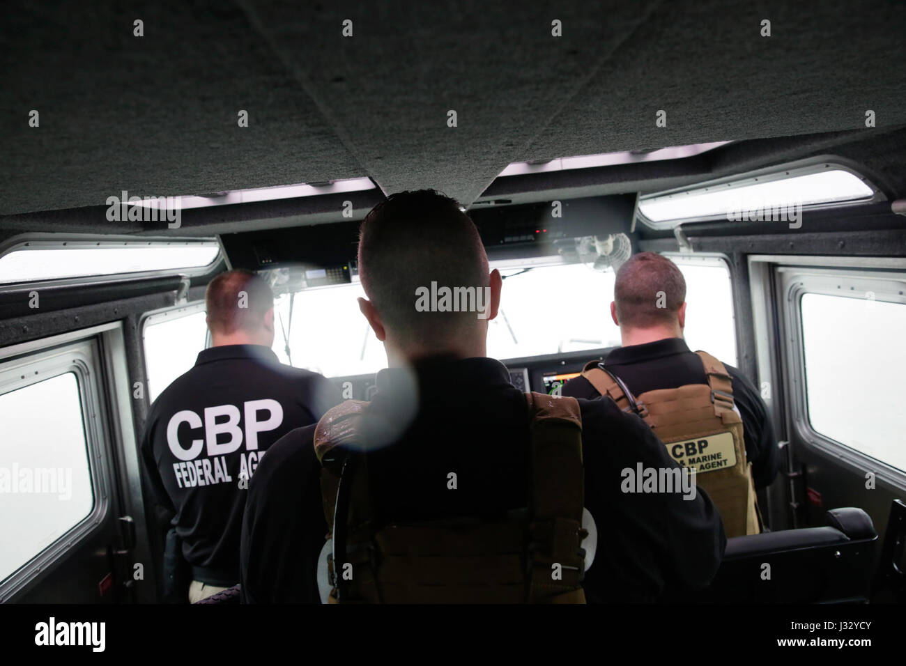 marine interdiction agents with u customs and border protection air and marine operations monitor jpg 1300x956