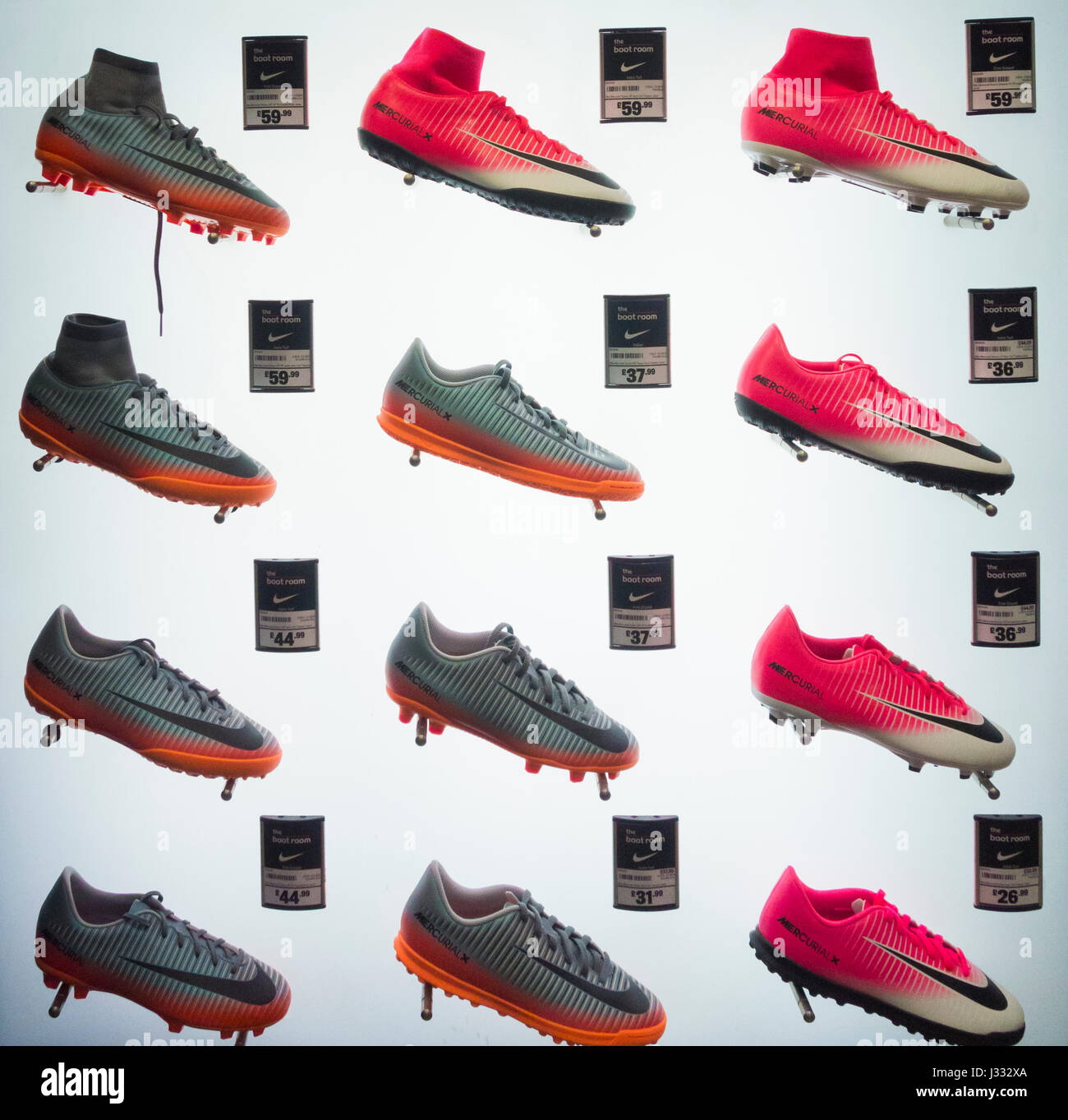 Decoración contacto En contra  Nike Football Boots High Resolution Stock Photography and Images - Alamy