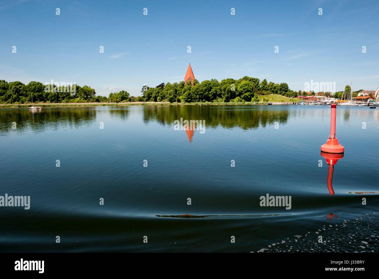 Sea near Poel island, Wismar, Baltic Sea, Germany, Europe, summer - Stock Image