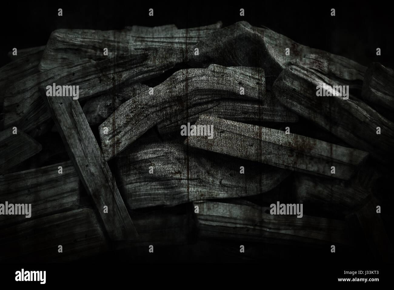 Hintergrund Holz - Stock Image