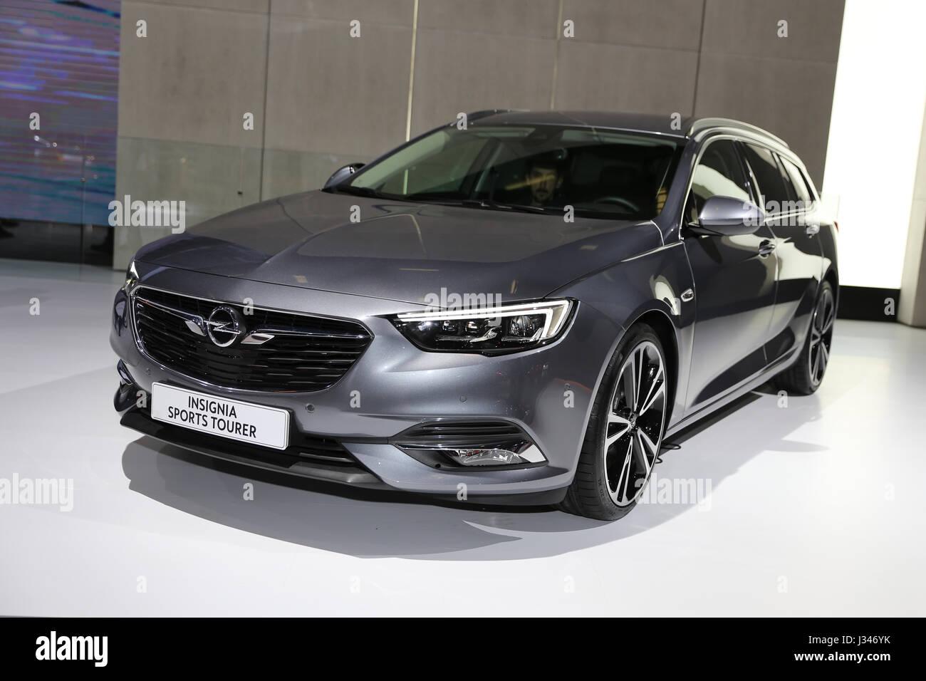 Istanbul Turkey April 22 2017 Opel Insignia Sports Tourer On Stock Photo Alamy