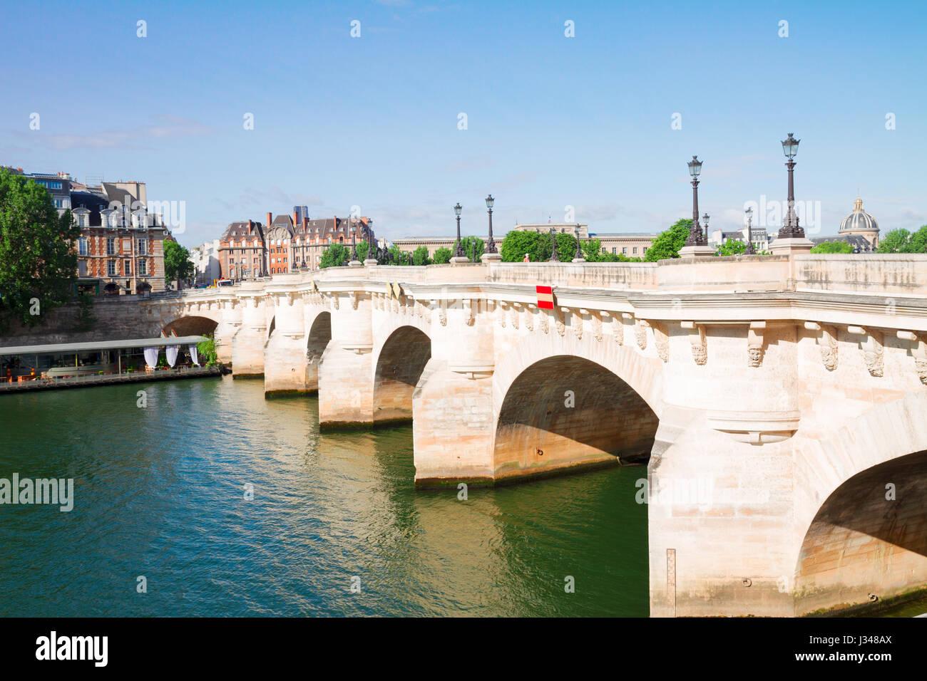 Pont Neuf, Paris, France - Stock Image