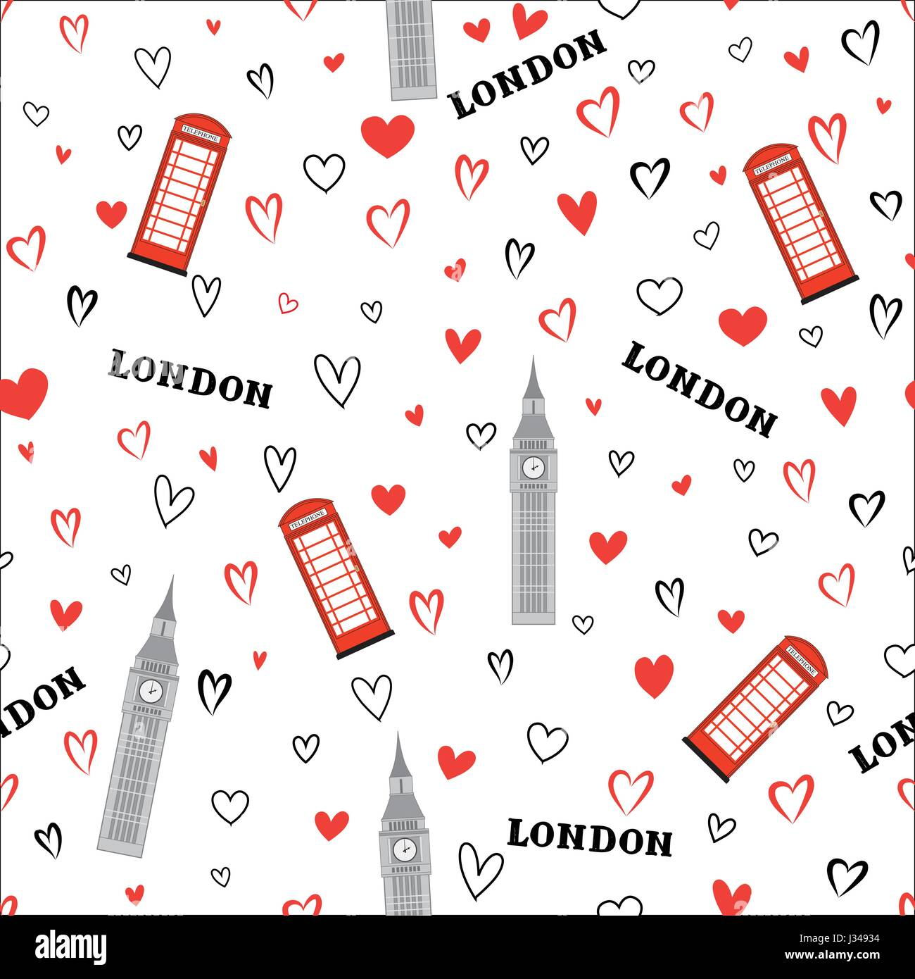 Love London Stock Vector Images Page 2 Alamy