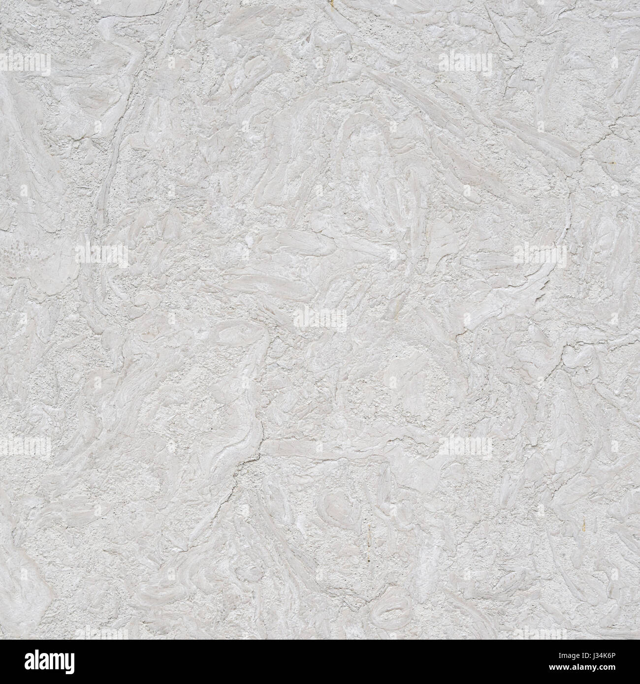 marbled white stone wall texture background - Stock Image