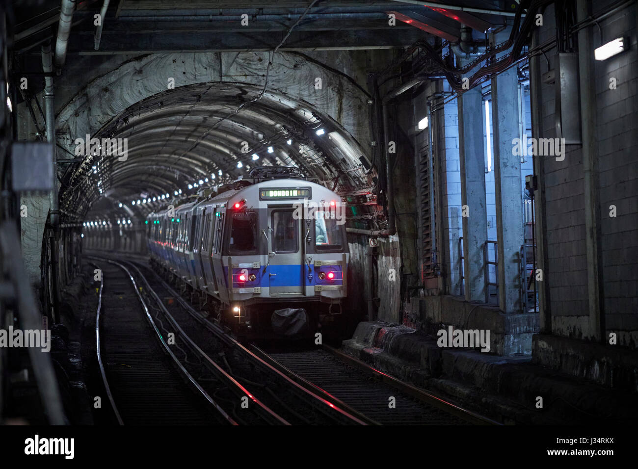 Massachusetts Bay Transportation Authority (MBTA) Blue Line