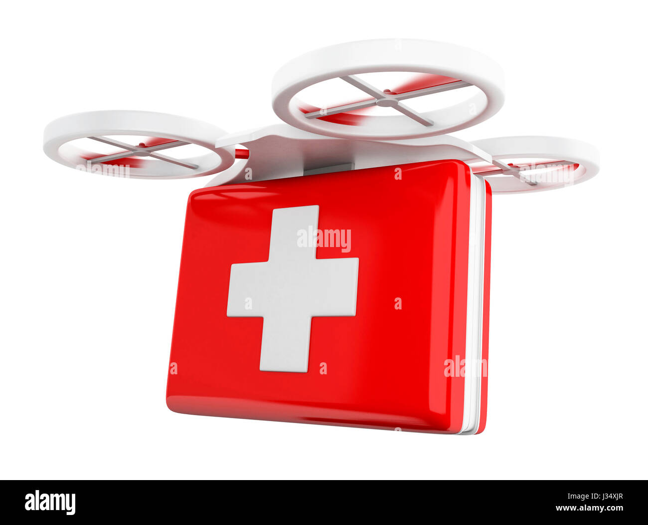 Drone Delivery Medical Stock Photos & Drone Delivery Medical Stock