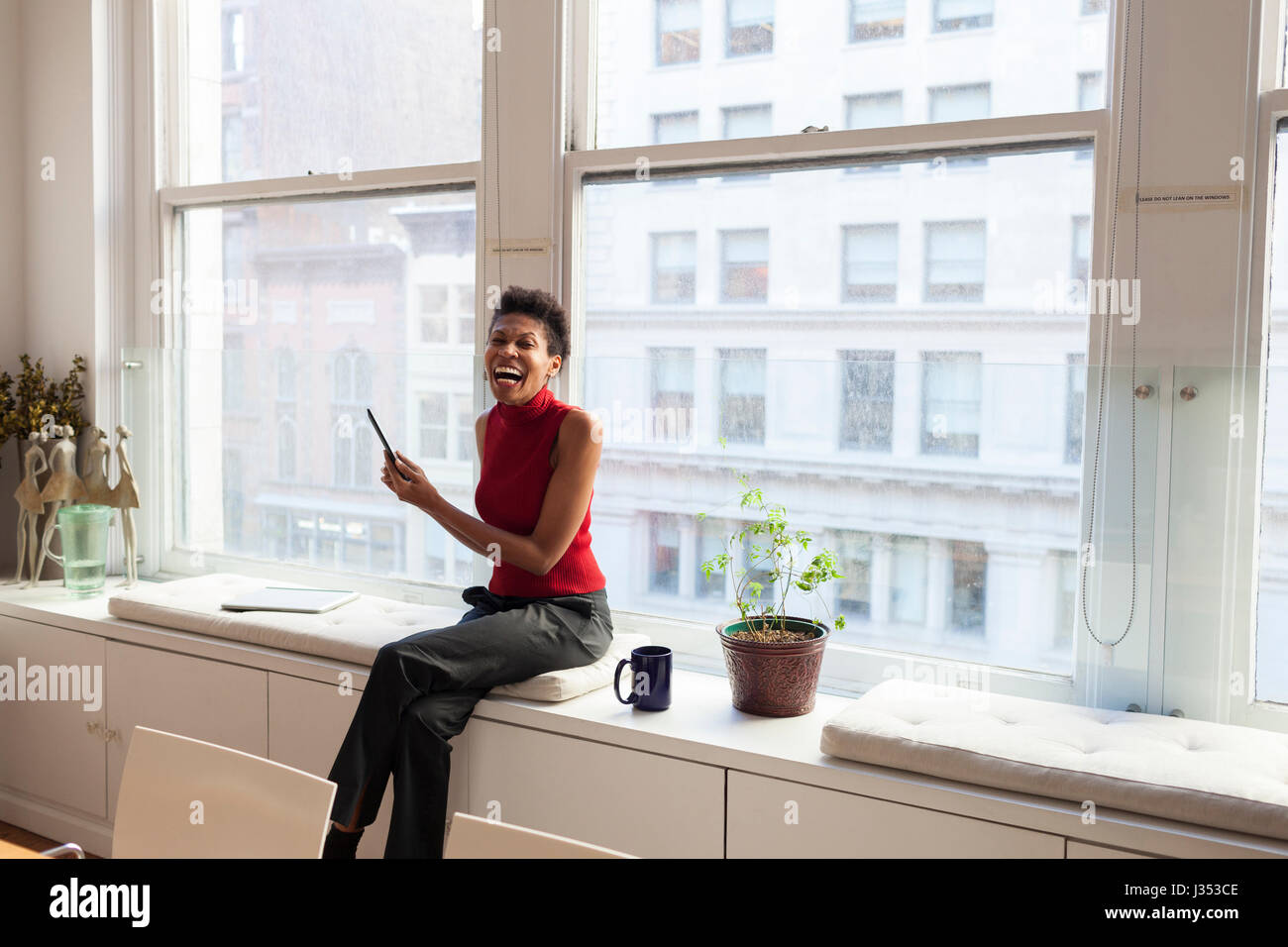 Portrait of a professional businesswoman - Stock Image