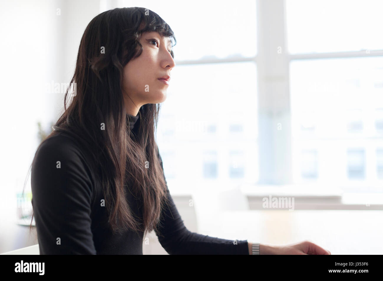 Portrait of a professional young businesswoman Stock Photo