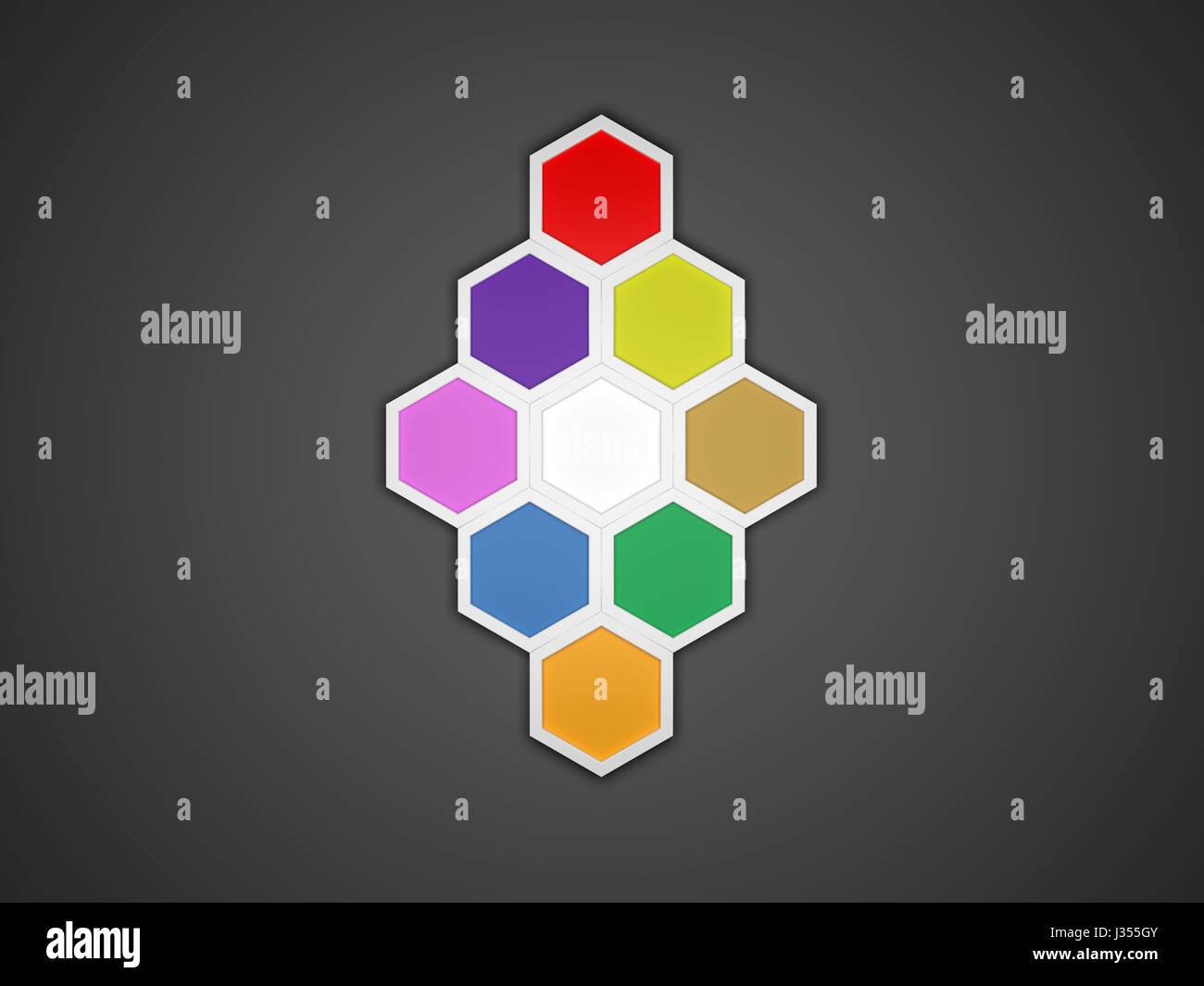 3d octagon template layout for business stock photo 139641067 alamy