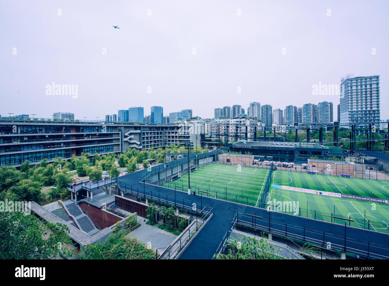West village community the retrofit project chengdu for Sichuan cendes architectural design company limited