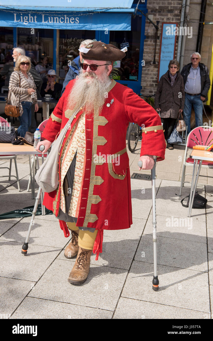 Winner of the Mayor of Wimborne Special Award went to Chris Brown Town Crier of Wimborne. - Stock Image