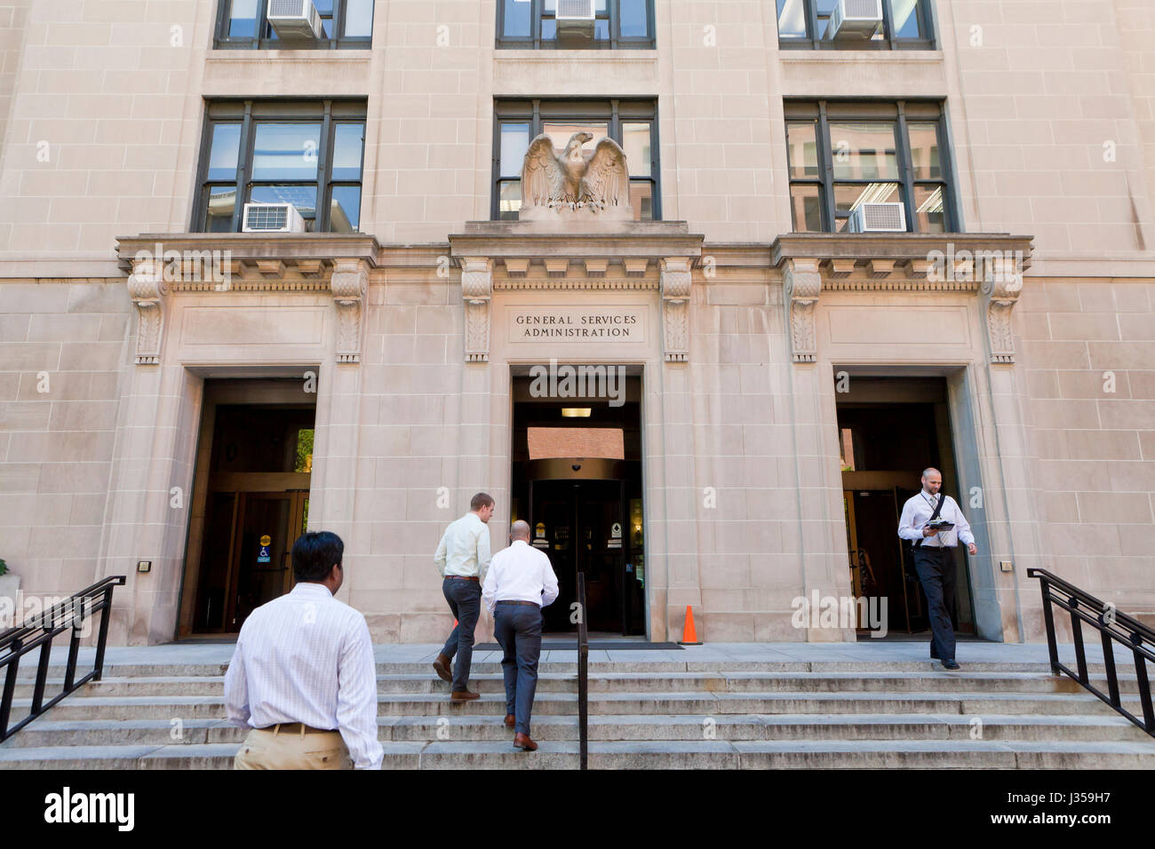General Services Administration building - Washington, DC USA - Stock Image
