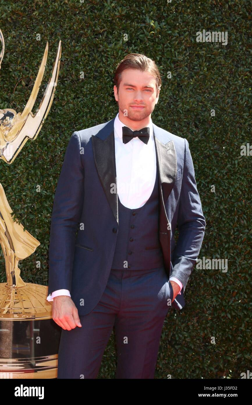 Pasadena, CA. 30th Apr, 2017. Pierson Fode at arrivals for 44th Annual Daytime Emmy Awards - Arrivals 2, PasadenaStock Photo