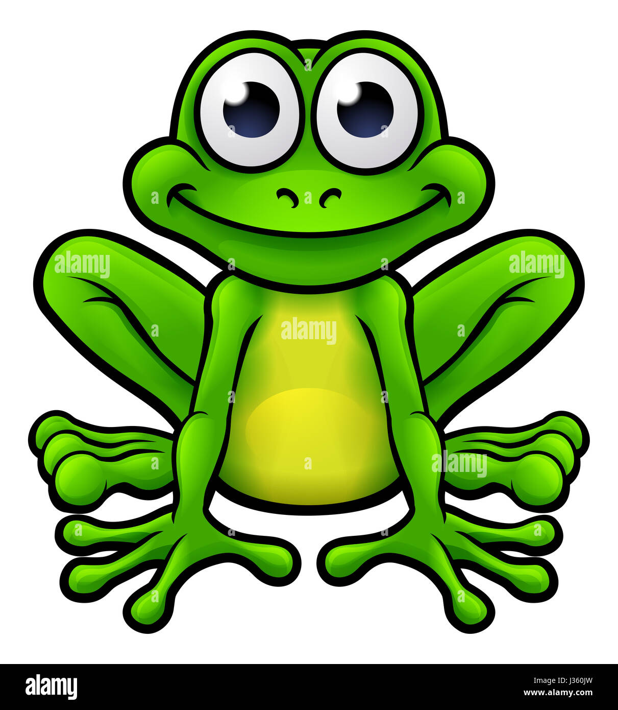Cartoon frog - photo#34