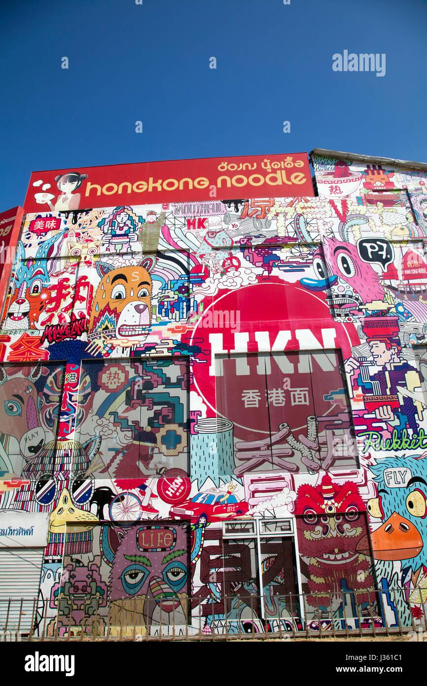 Graffiti Zone Bangkok