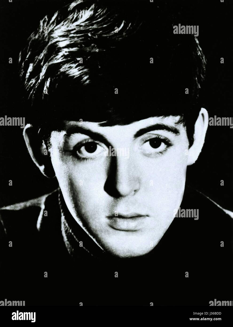 Paul McCartney is an english singer, a former member of the Beatles.  It is forbidden to reproduce the photograph - Stock Image