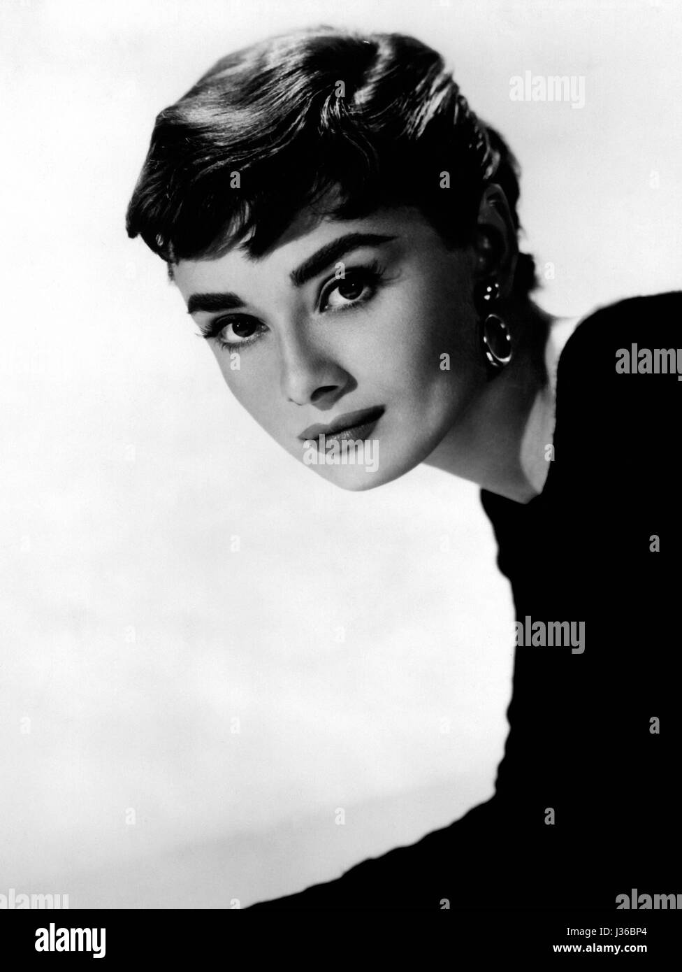 Sabrina   Year : 1954 USA  Director : Billy Wilder  Audrey Hepburn.  It is forbidden to reproduce the photograph - Stock Image