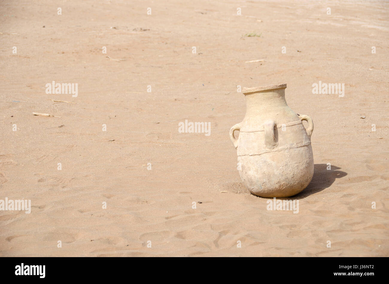 Old berber vase, pottery from the Berbers Morocco - Stock Image