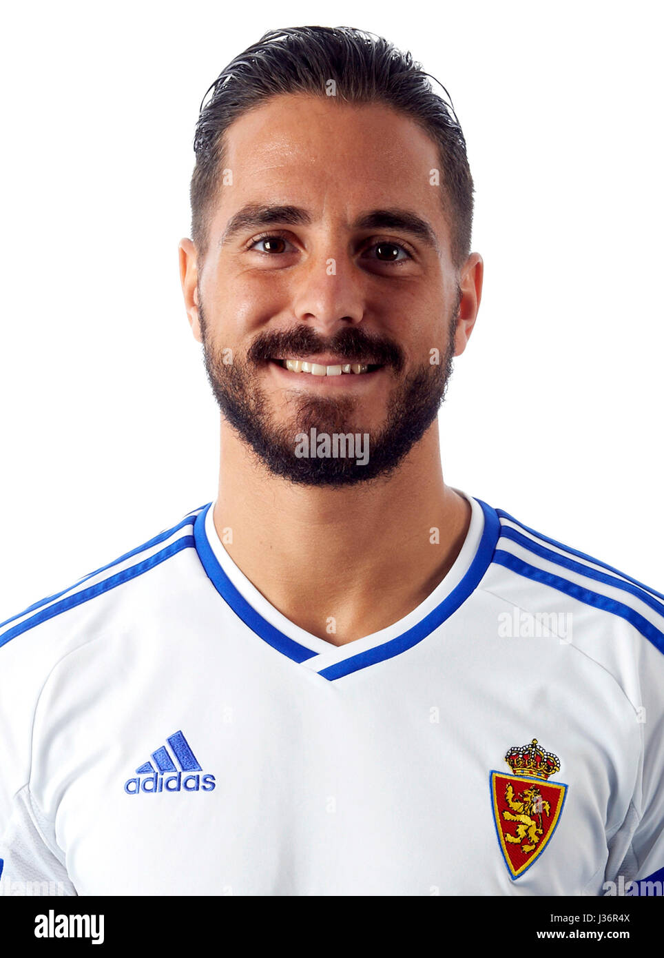 Spain - La Liga B 123 _ 2016-2017 /  ( Real Zaragoza ) -  Javier Ros Anon ' Javi Ros ' - Stock Image