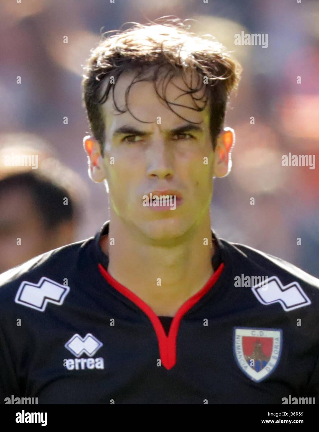 Spain - La Liga B 123 _ 2016-2017 /  ( C.D. Numancia de Soria ) -  Inigo Perez Soto ' Inigo Perez ' - Stock Image