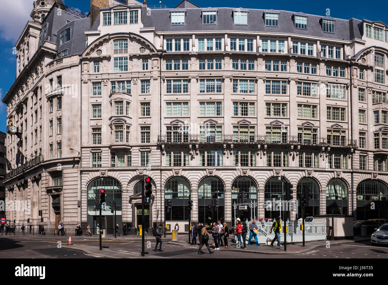Gracechurch Centre housing the House of Fraser department store, City of London, England, U.K. - Stock Image