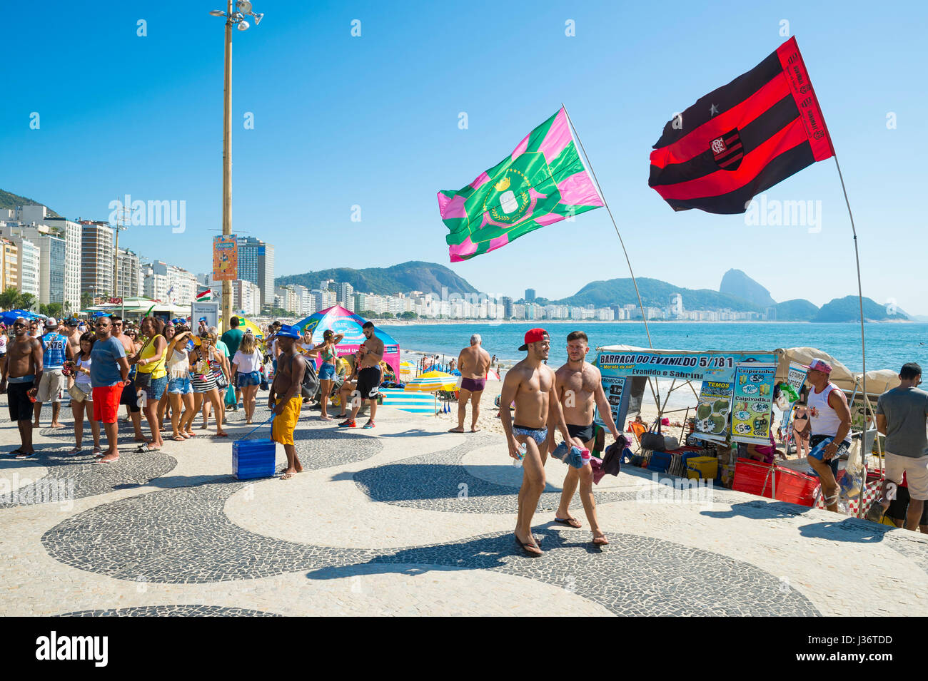 Rio De Janeiro March 15 2017 Crowds Of Young People