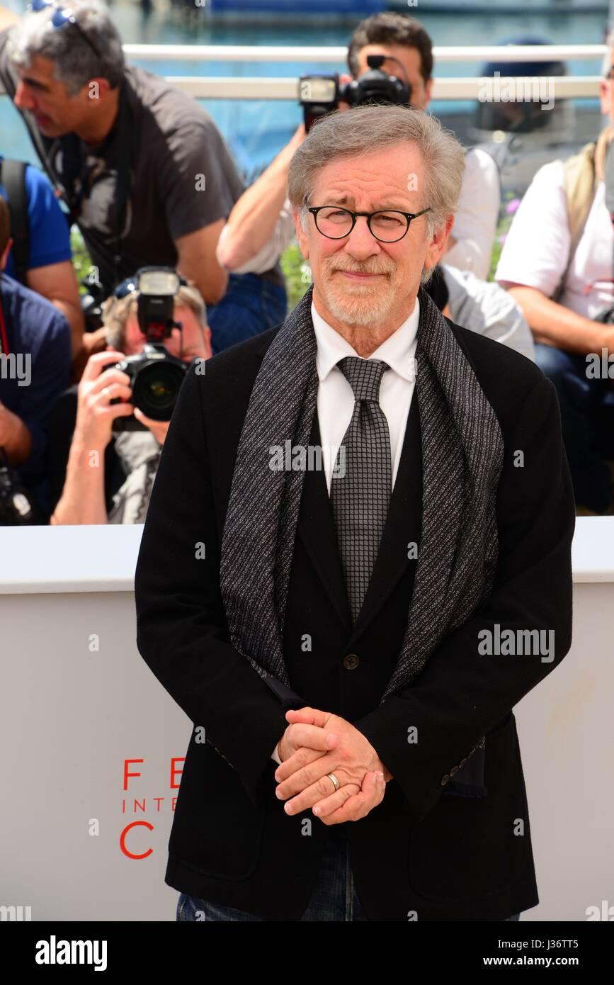 Steven Spielberg Photocall For The Film The Bfg 69th Cannes Film