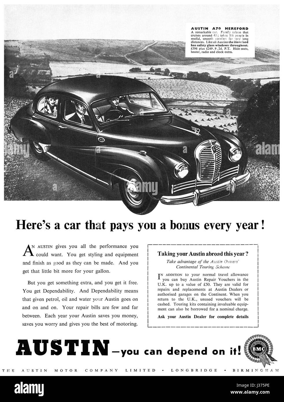 1950s British Car Design Stock Photos & 1950s British Car Design