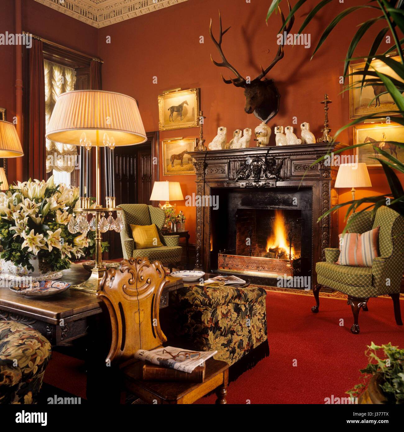 living room victorian style style living room stock photo royalty free 17157
