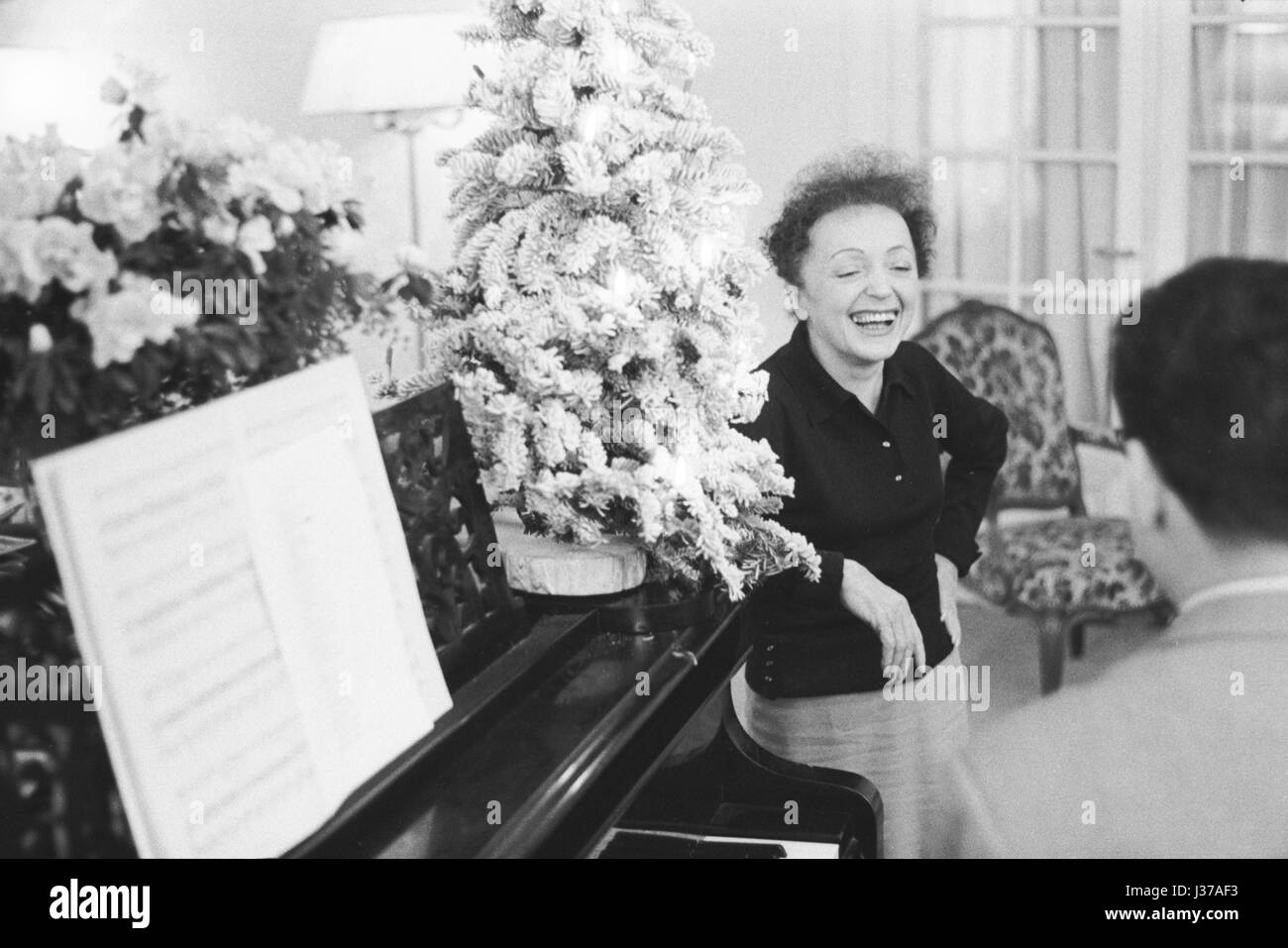 Who Wrote White Christmas.With The French Composer Who Wrote One Of Her Most Famous
