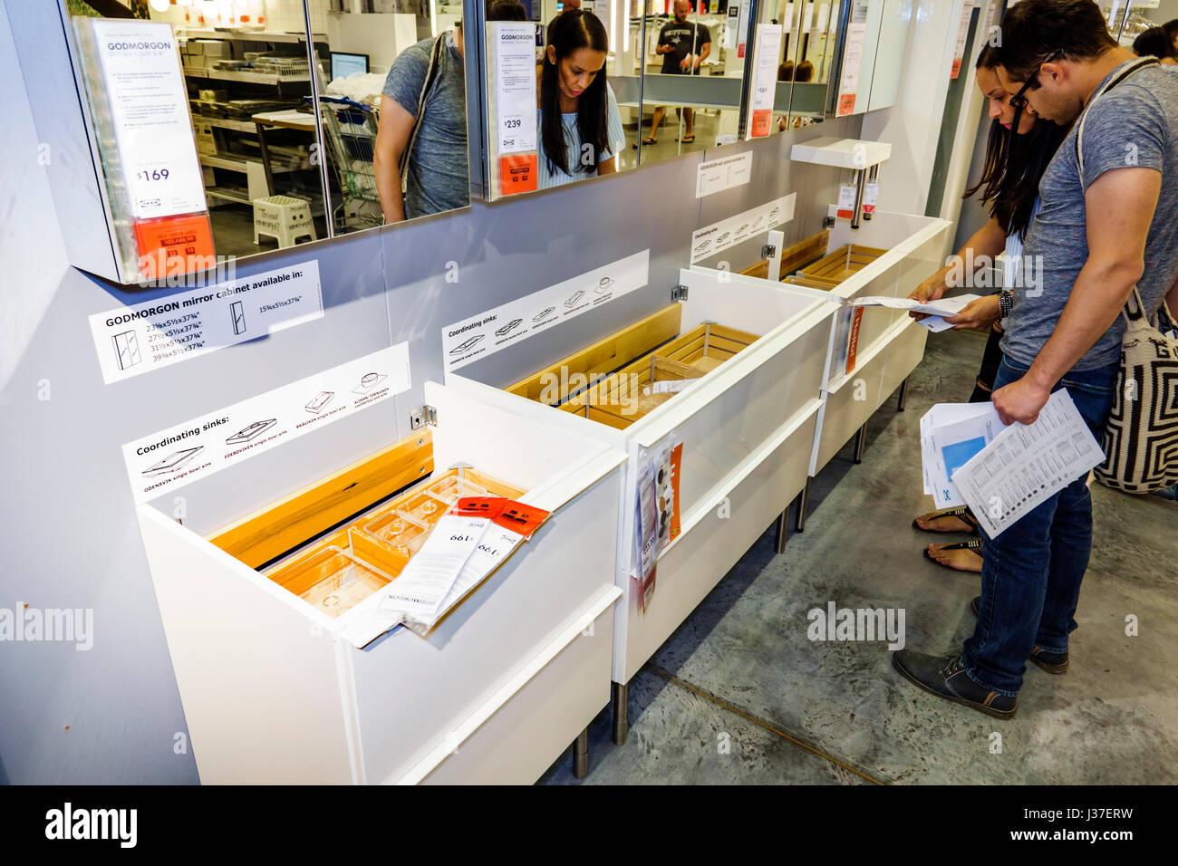 Miami Florida Ikea Store Retailer Furniture Home Accessories - Bathroom store miami