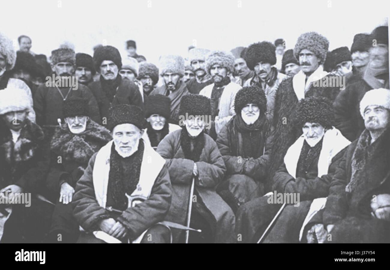 Chechen Delegates 1923 - Stock Image