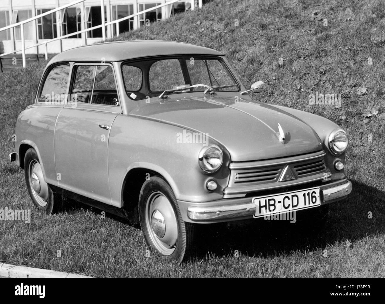 1958 Lloyd 600 - Stock Image