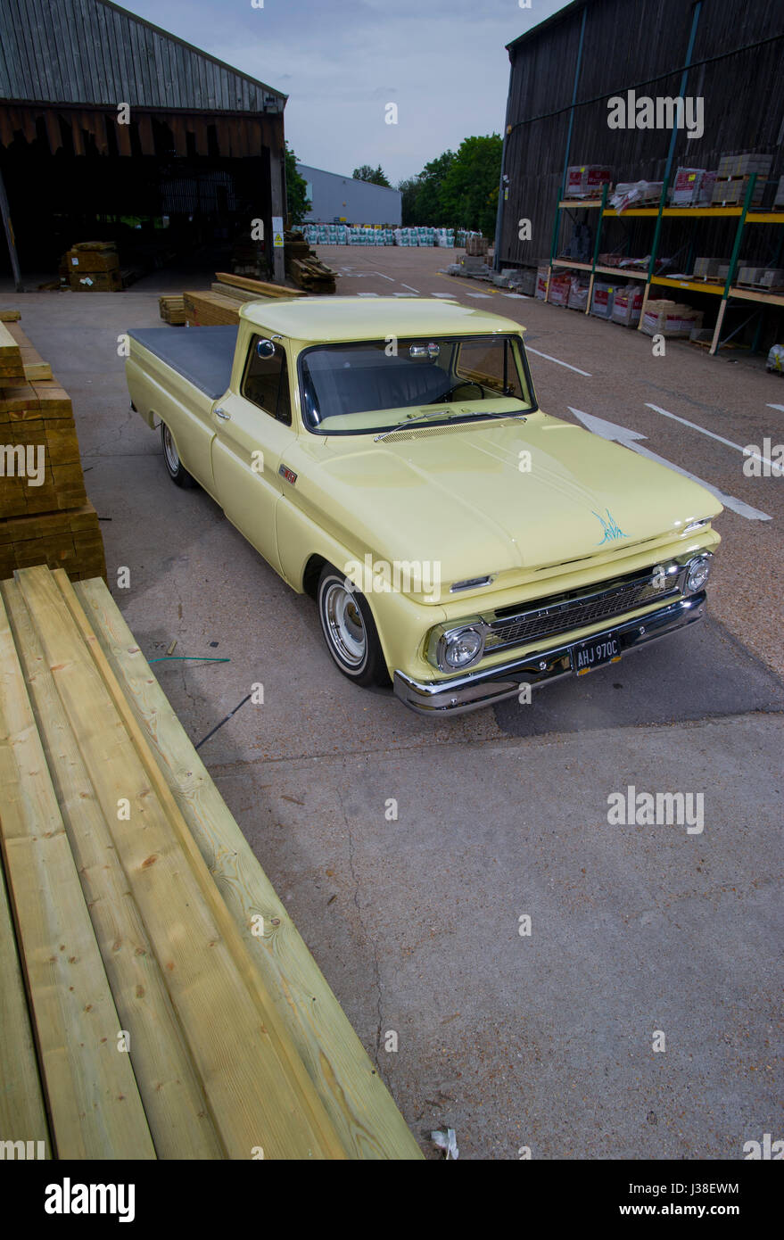 Chevy C10 Stock Photos Images Alamy 1966 Chevrolet Pick Up Classic Truck Image