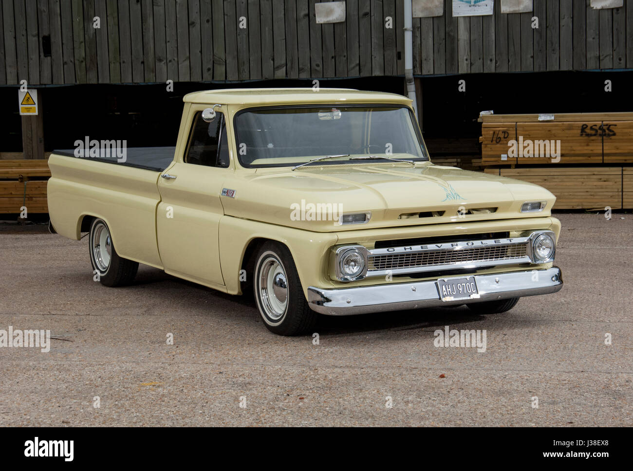 Chevy C10 Stock Photos Images Alamy 1966 Chevrolet Pickup Truck Classic Pick Up Image